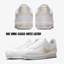 NIKE★WMNS CLASSIC CORTEZ LEATHER ★レザー★WHITE/GUAVA ICE