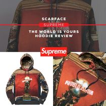 FW17 Supreme Scarface The World Is Yours Hooded Sweatshirt