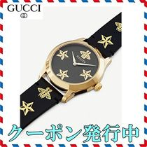 ◆GUCCI◆YA1264055 G-Timeless レザーウォッチ