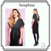 Seraphine☆Sparkle V Back マタニティワンピース