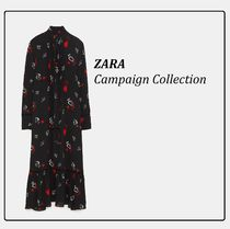 ZARA★Campaign Collection ハート柄プリントワンピース