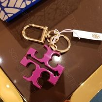 2018AW♪ Tory Burch ★ RESIN LOGO KEY FOB