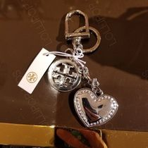 2018AW♪ Tory Burch ★ LOGO & HEART KEY FOB
