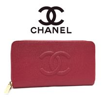 CHANEL A50071 Y33397 5B455 ラウンドファスナーRED (新品)