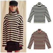 STEREOVINYLSのPink Panther Stripe Turtleneck Long Sleeve