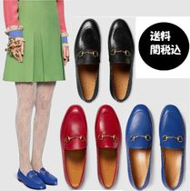 ★Gucci★*関税・送料込* GUCCI JORDAAN LEATHER LOAFERS