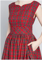 modcloth(モドクロス) オールインワン・サロペット fabulous fit and flare dress with pockets