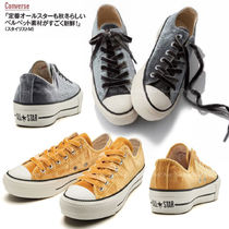 ベロア+足長効果!国内発★Converse ALL STAR  PLTS VELVET OX