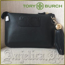 ★在庫有即発★TORY BURCH Tassel Cross Body Black 50671