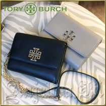 ★在庫有即発★TORY BURCH Britten Wallet Black Gray 48292