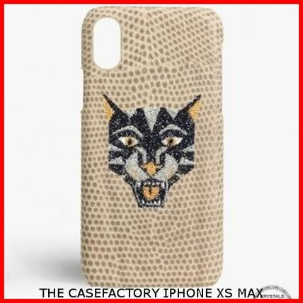 THE CASE FACTORY スマホケース・テックアクセサリー 関税送料込☆THE CASEFACTORY☆IPHONE XS MAX スワロ TIGER