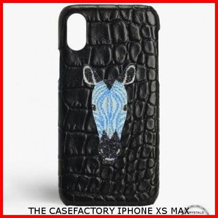 THE CASE FACTORY スマホケース・テックアクセサリー 関税送料込☆THE CASEFACTORY☆IPHONE XS MAX スワロ ZEBRA