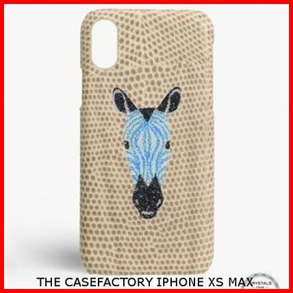 THE CASE FACTORY iPhone・スマホケース 関税送料込☆THE CASEFACTORY☆IPHONE XS MAX スワロ ZEBRA