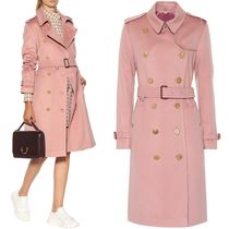 18-19AW BB115 KENSINGTON CASHMERE TRENCH COAT