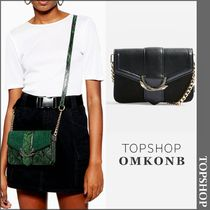 【国内発送・関税込】TOPSHOP★Sela Snake Print Cross Body Bag