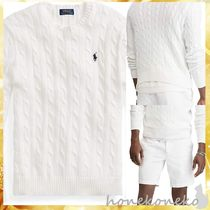 【国内発 Ralph Lauren 送料込】 Cable-Knit Cotton Sweater