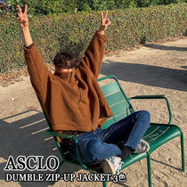ASCLO★韓国の人気★DUMBLE ZIP-UP JACKET 3色