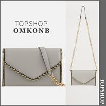 【国内発送・関税込】TOPSHOP★Zipper Detailed Clutch Bag