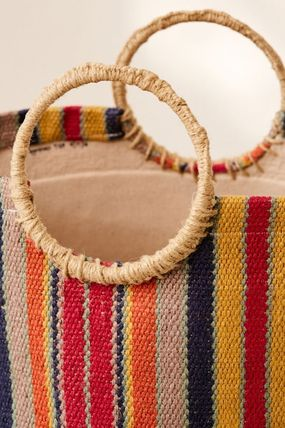 Urban Outfitters 棚・ラック・収納 Urban Outfitters Louisa Basket バスケット かご 収納(4)