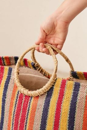 Urban Outfitters 棚・ラック・収納 Urban Outfitters Louisa Basket バスケット かご 収納(5)