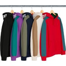 11 WEEK Supreme FW 18 Paneled Hooded Sweatshirt