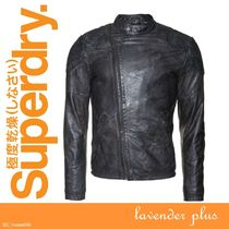 【日本未上陸】Superdry Endurance Indy Custom Leather Jacket