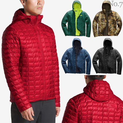 THE NORTH FACE◆Thermoball フーディー◆軽量/迷彩カモ柄