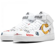 入手困難!NIKE x Supreme  Air Force 1 Mid  NBA White