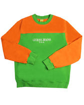 Guess Jeans U.S.A. x Sean Wotherspoon Sweat - Green/Orange