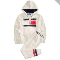 【Tommy Hilfiger】Graphic-Print スウェット セットアップ 上下