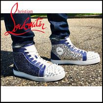 Christian Louboutin No Limit 018 ハイトップ スニーカー