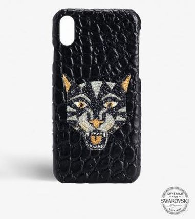 THE CASE FACTORY スマホケース・テックアクセサリー 関税送料込☆THE CASEFACTORY☆IPHONE XR SWAROVSKI TIGER (2)