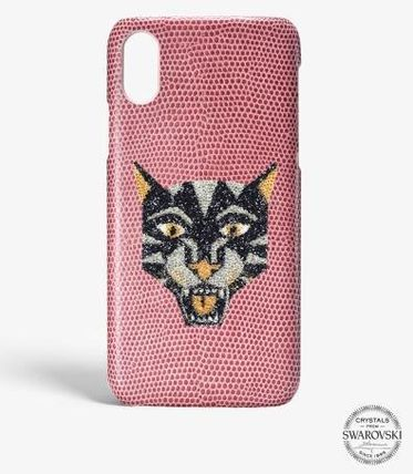 THE CASE FACTORY スマホケース・テックアクセサリー 関税送料込☆THE CASEFACTORY☆IPHONE XR SWAROVSKI TIGER(2)