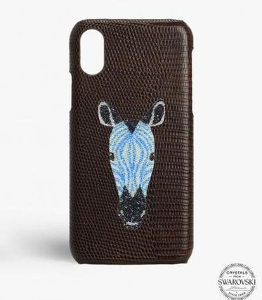 THE CASE FACTORY スマホケース・テックアクセサリー 関税送料込☆THE CASEFACTORY☆IPHONE XR SWAROVSKI ZEBRA (2)