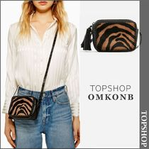 【国内発送・関税込】TOPSHOP★Tiger Print Cross Body Bag