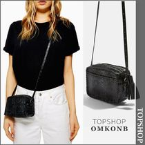【国内発送・関税込】TOPSHOP★Snake Whipstitch Cross Body Bag