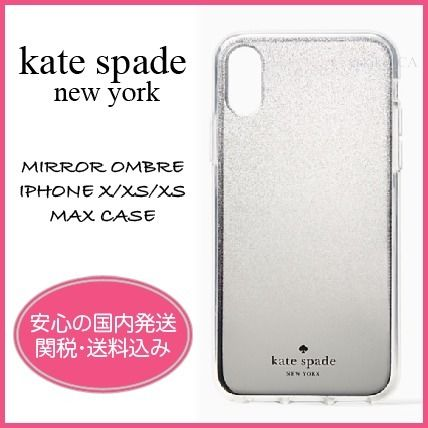 kate spade new york スマホケース・テックアクセサリー 【国内発送】MIRROR OMBRE IPHONE X/XS/XS MAX CASEセール