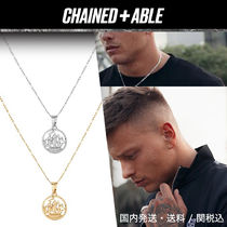 Chained&Able★HALF PENNY CUT OUT FIGAROネックレス*クーポン付