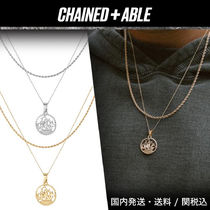 Chained&Able★HALF PENNY CUTOUT ROPE 2連ネックレス★クーポン