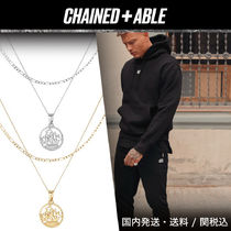 Chained&Able★HALF PENNY CUTOUT FIGARO2連ネックレス*クーポン