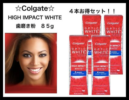 コルゲートOPTIC WHITE High Impact 4shade WHITER4本セット!