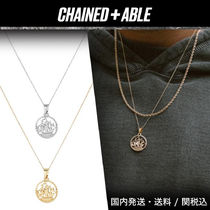 Chained & Able★HALF PENNY CUT OUT ネックレス★クーポン付き