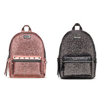 Glitter Mesh Small City Backpack