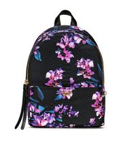 Midnight Blooms Small City Backpack