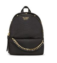 Nylon Python Stud Small City Backpack