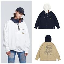 ROMANTIC CROWNの[R.C X M.G]Flag GONZ Shirt Hood 全3色