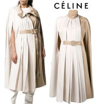 【18AW】★CELINE★pleated cape coat