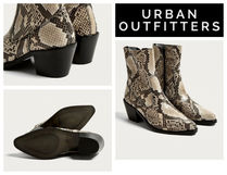 【UrbanOutfitters】新作●Bronco Snake Print Western Boots
