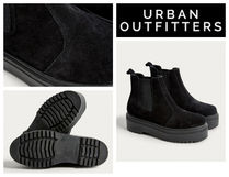 【UrbanOutfitters】Brody Suede Platform Chelsea Boot