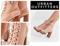 【UrbanOutfitters】♡Kennedy Heeled Lace-Up Boot
